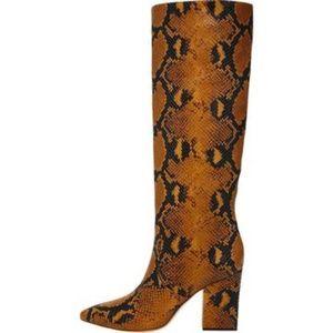 Loeffler Randall Womens Sarina Leather Tall Block